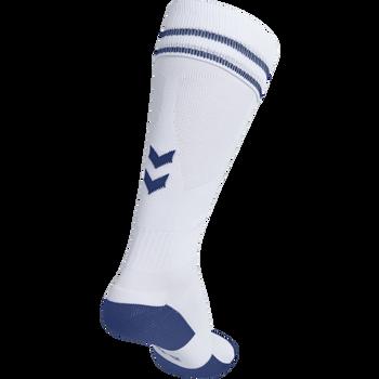 ELEMENT FOOTBALL SOCK , WHITE/TRUE BLUE, packshot