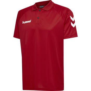 CORE FUNCTIONAL POLO, TRUE RED, packshot