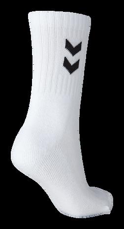 3-Pack Basic Sock, WHITE, packshot