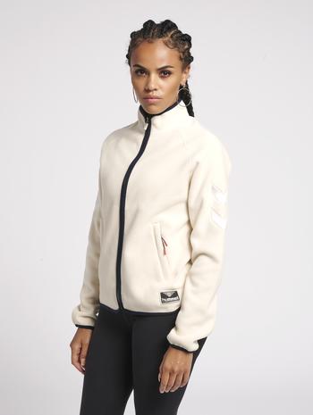 hmlSOFIE JACKET, BONE WHITE, model
