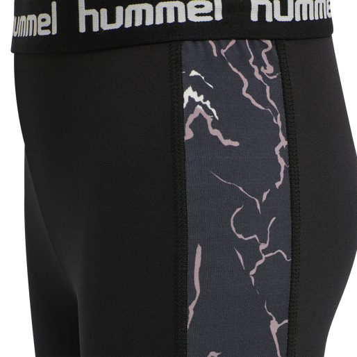 hmlNANNA TIGHTS, CAVIAR/TWILIGHT MAUVE , packshot