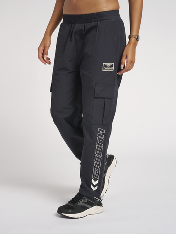 hmlLASSE PANTS, DARK NAVY, model