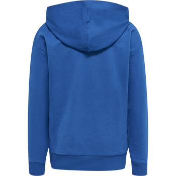 HMLLEIDEN HOODIE, NIGHT BLUE, packshot