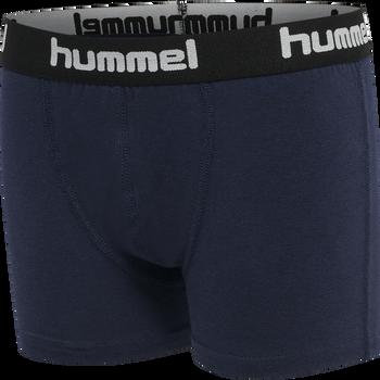 hmlNOLAN BOXERS 2-PACK, BLACK IRIS, packshot