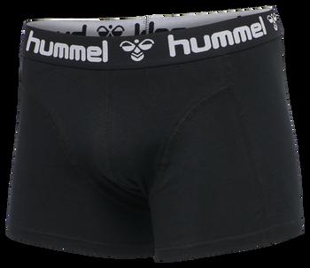 HMLMARS 2PACK BOXERS, BLACK/BLACK, packshot