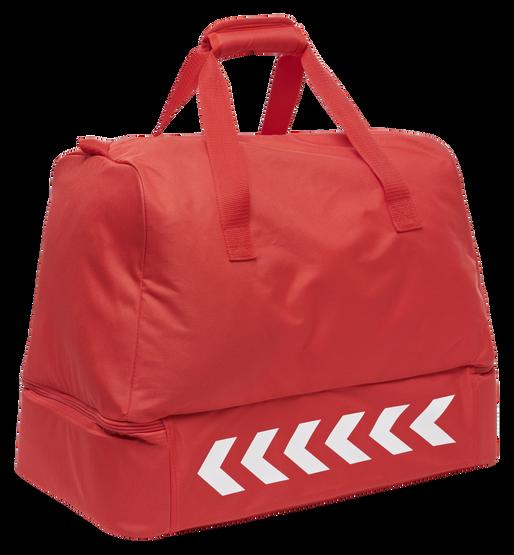 CORE FOOTBALL BAG, TRUE RED, packshot