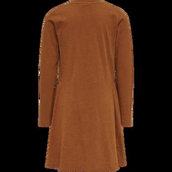 hmlBADISHA DRESS L/S, BOMBAY BROWN, packshot