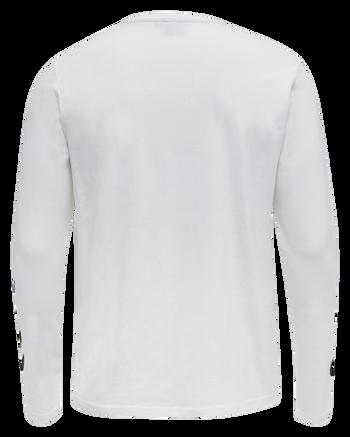 hmlSIGGE T-SHIRT L/S, WHITE, packshot
