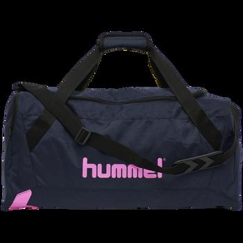 hmlACTION SPORTS BAG, BLACK IRIS/SUGAR PLUM, packshot
