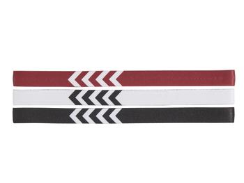 3-PACK HEADBAND, WHITE/BLACK/TRUE RED, packshot