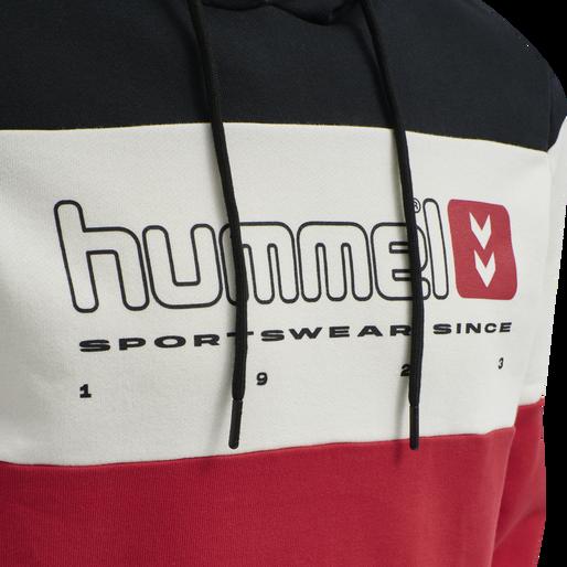 hmlLGC MUSA HOODIE, TRUE RED, packshot